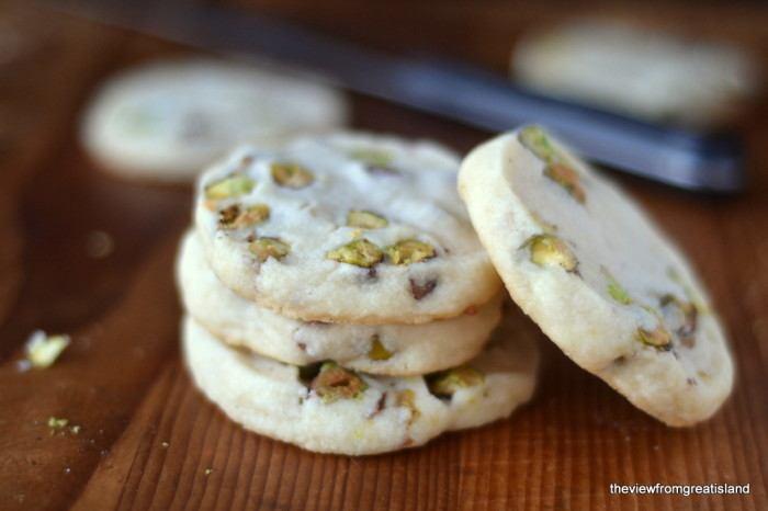Pistachio Shortbread Cookies Recipe | HeyFood — heyfoodapp.com
