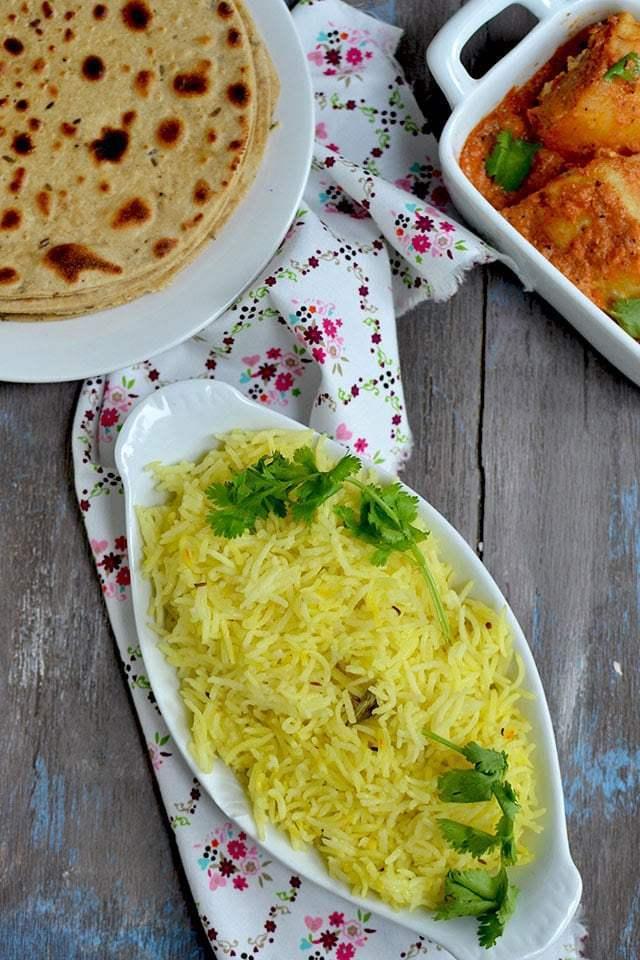 Kashmiri Saffron or Kesar Rice Recipe | HeyFood — heyfoodapp.com