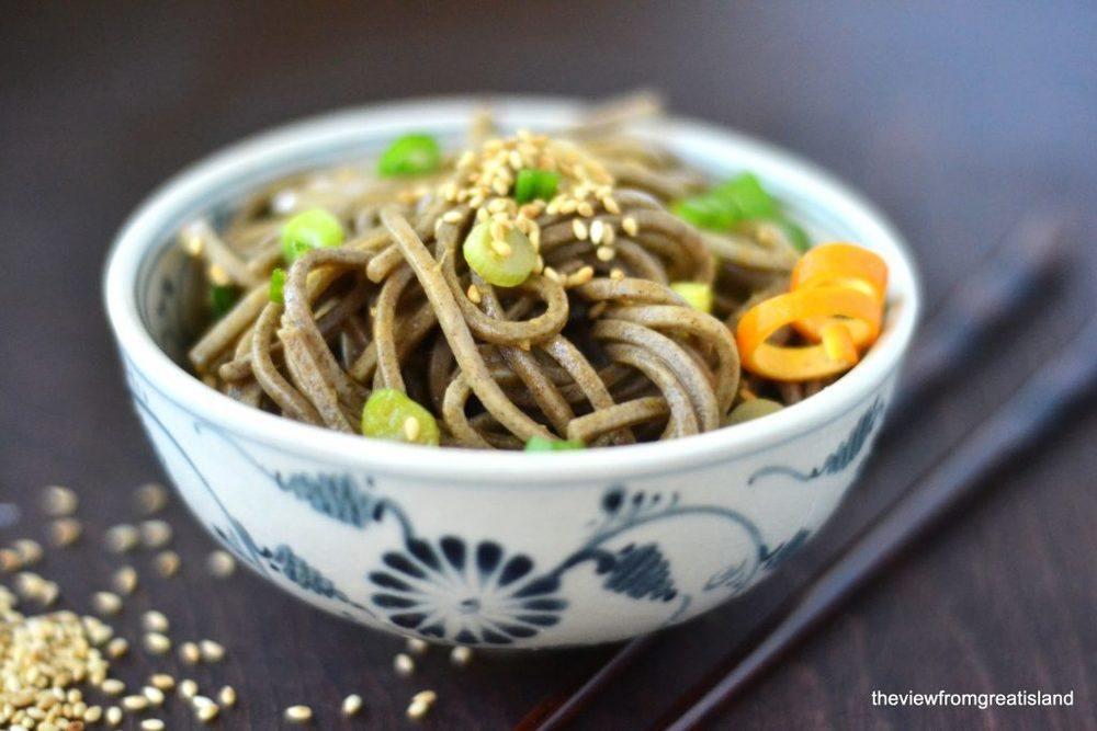 Spicy Mandarin Soba Noodles Recipe | HeyFood — heyfoodapp.com