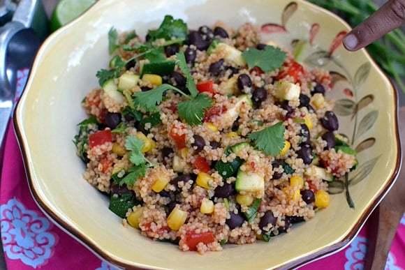 South Western Couscous Salad Recipe | HeyFood — heyfoodapp.com