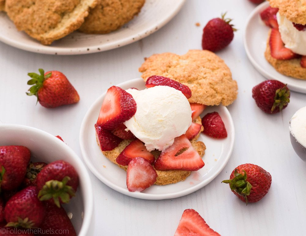 Strawberry Shortcake Ice Cream Sandwiches Recipe | HeyFood — heyfoodapp.com