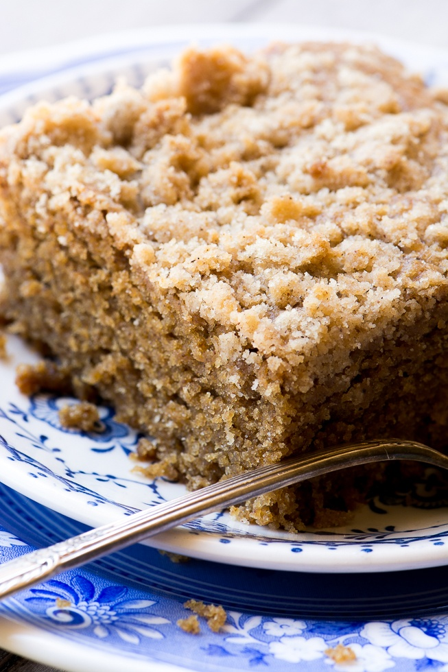 Gingerbread Crumb Cake Recipe | HeyFood — heyfoodapp.com