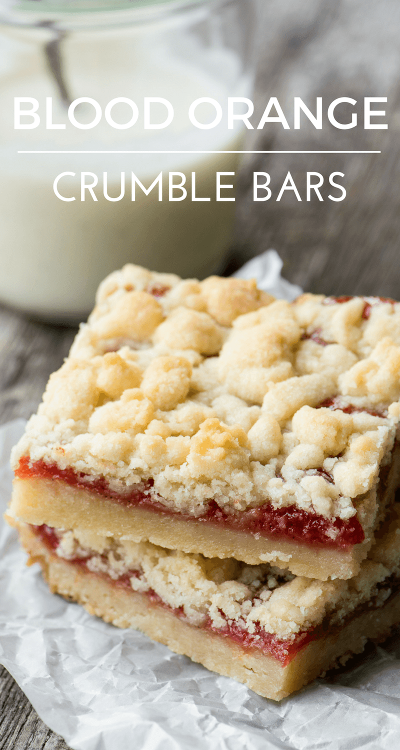 Blood Orange Crumble Bars Recipe | HeyFood — heyfoodapp.com