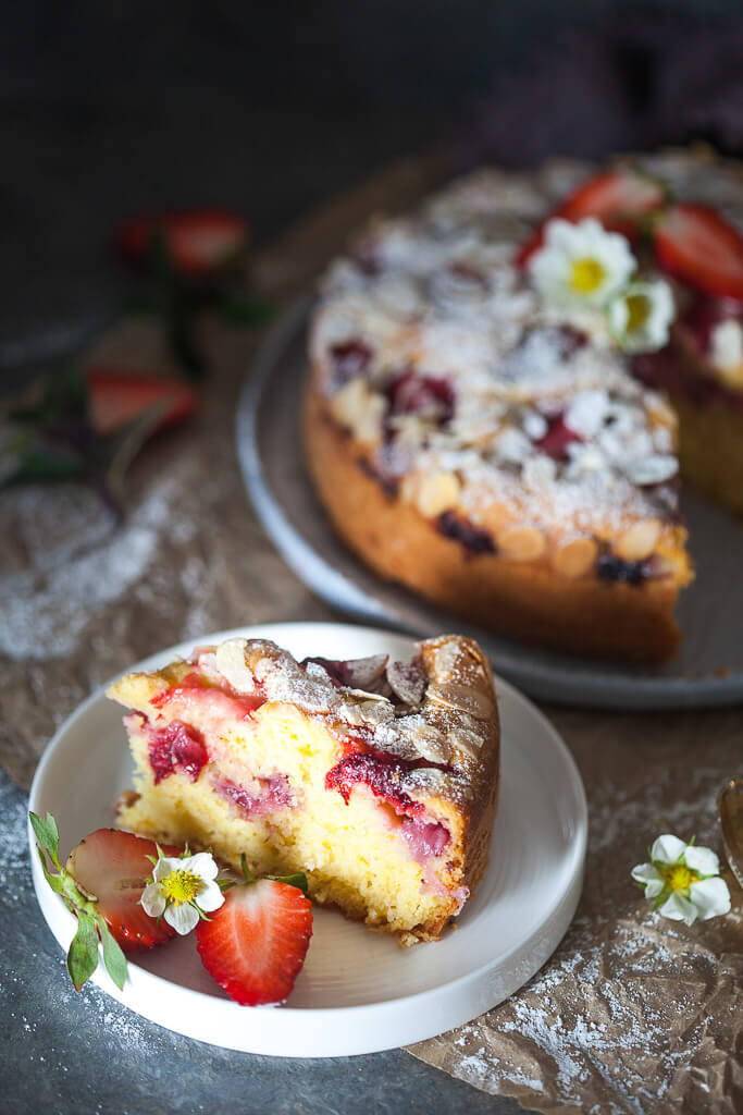 Strawberry Yogurt Cake  Recipe | HeyFood — heyfoodapp.com