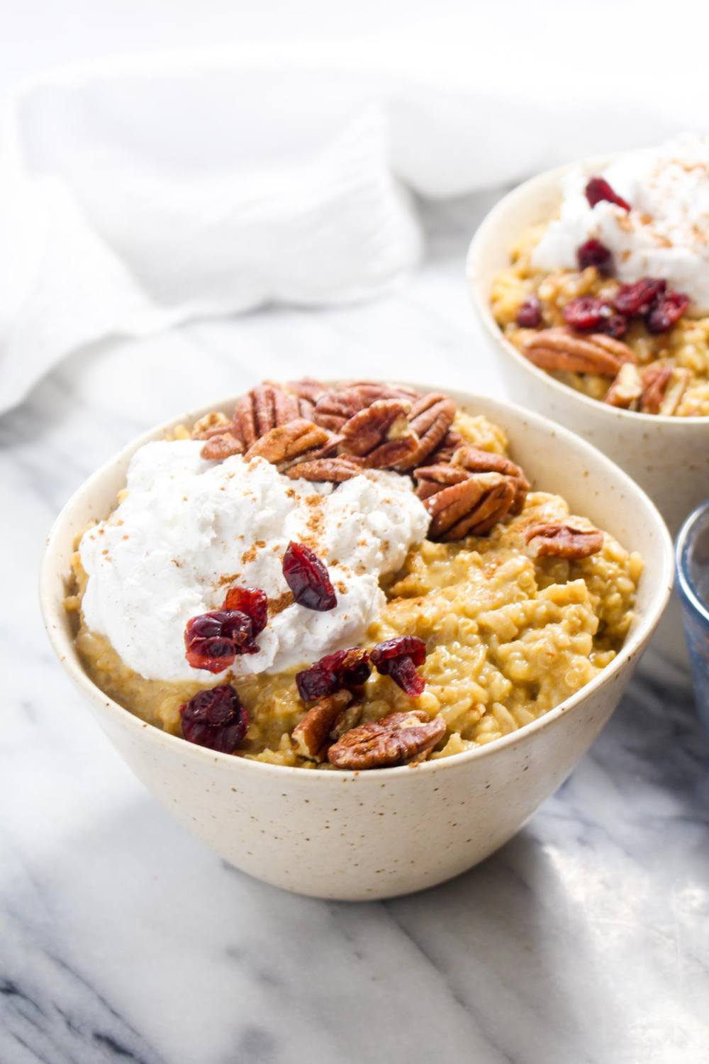 Pumpkin Spice Breakfast Rice Pudding Recipe | HeyFood — heyfoodapp.com