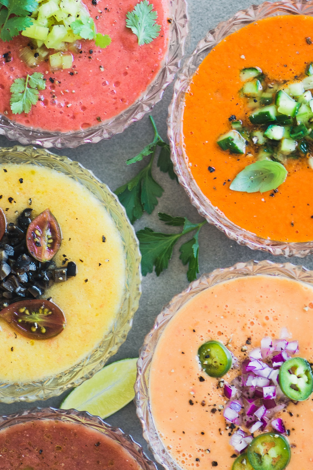 Heirloom Tomato Gazpacho  Recipe | HeyFood — heyfoodapp.com