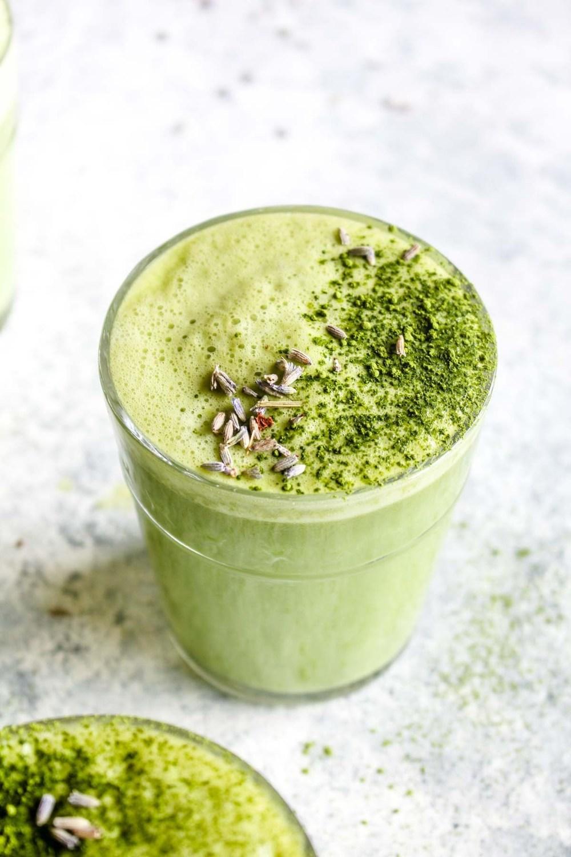 Lavender Matcha Latte Recipe | HeyFood — heyfoodapp.com