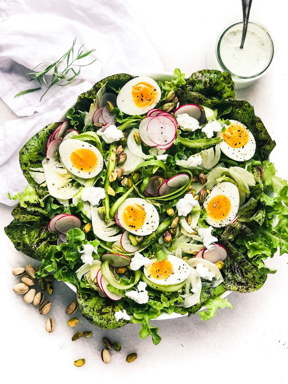 Spring Salad with fennel and eggs Recipe | HeyFood — heyfoodapp.com