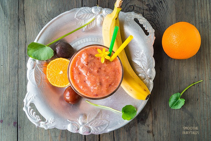 Plum, Banana and Orange Smoothie Recipe | HeyFood — heyfoodapp.com