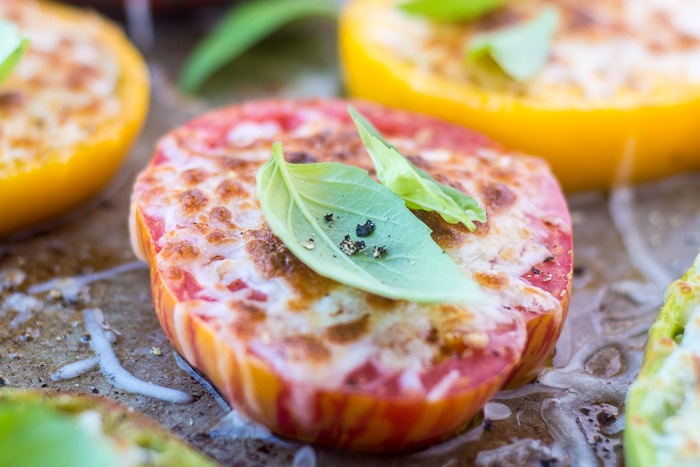 Heirloom Parmesan Tomatoes Recipe | HeyFood — heyfoodapp.com