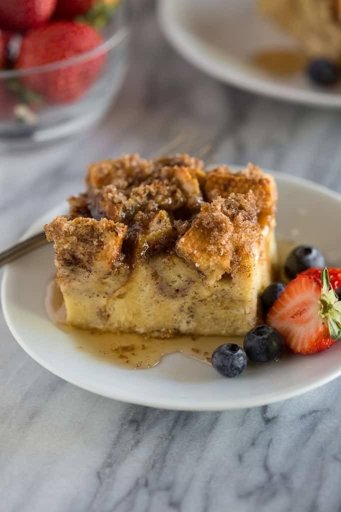 Baked French Toast Casserole Recipe | HeyFood — heyfoodapp.com