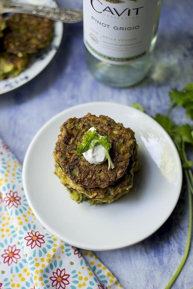 Zucchini Fritters Recipe | HeyFood — heyfoodapp.com
