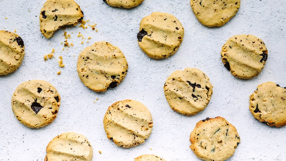 Healthyish Chocolate  Chunk Peanut Butter Cookies Recipe   HeyFood — heyfoodapp.com